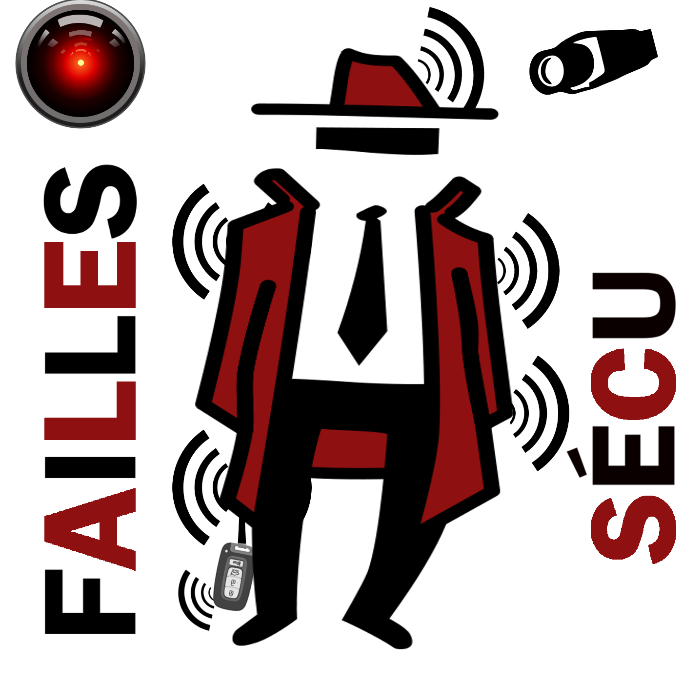 Logo Podcast Failles Secu
